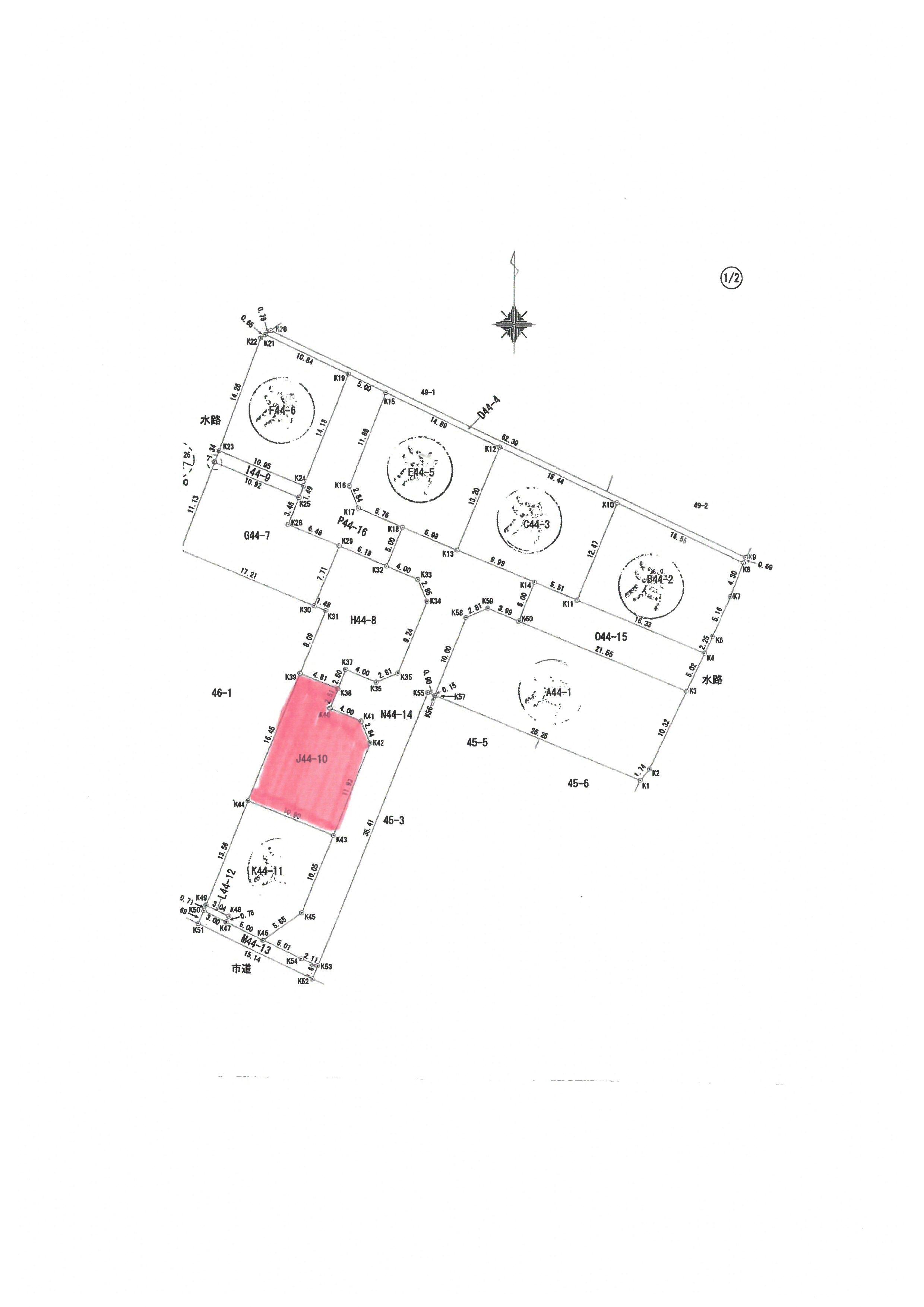 不動産情報/大野分譲地(J44-10)