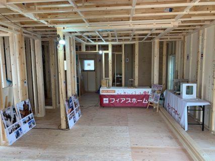 ◇南あわじ市市福永建築状況R2.8.8-9(構造見学会様子)